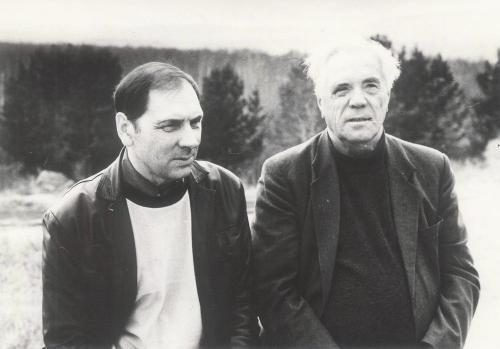 Н. Година с писателем В. Астафьевым в Ильменском заповеднике. 1994 г.