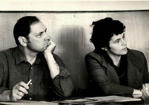 выезд в г. Магнитогорск с Татьяной Набатниковой, 1987г.