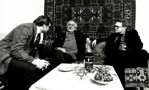 г. Миасс, 1981 год Леонид Оболенский в гостях у Николая Годины
