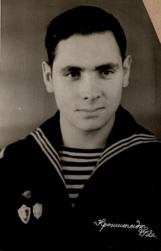 Н. И. Година на службе в армии. Кронштадт 1958 г.