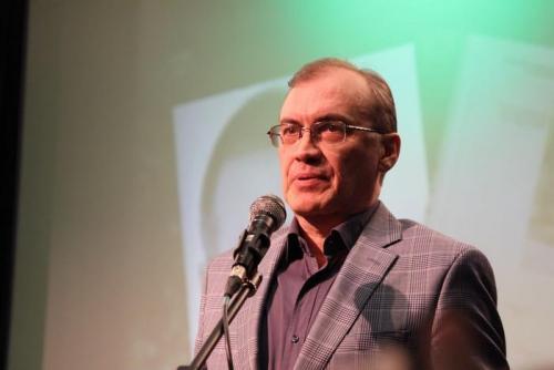 Виталий Кальпиди на церемонии награждения лауреатов Всероссийской литературной премии имени П.П. Бажова.