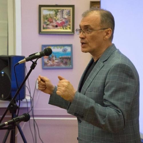 Встреча с Виталием Кальпиди в ЧОУНБ, Челябинск, 18 февраля, 2018год