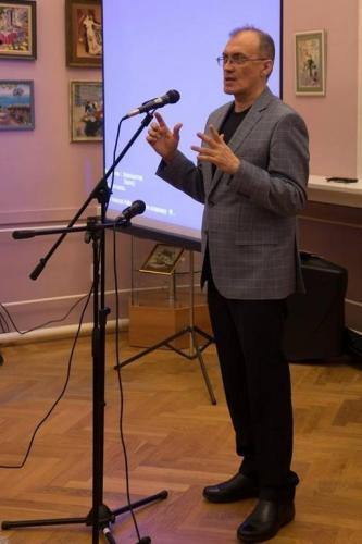 Встреча с Виталием Кальпиди в ЧОУНБ, Челябинск, 18 февраля, 2018 год