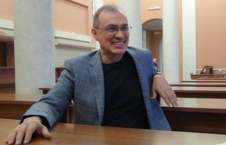 Встреча с Виталием Кальпиди в ЧОУНБ, Челябинск, 18 февраля, 2018 г.