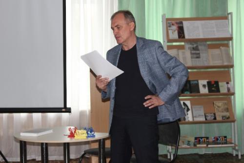 творческая встреча с Виталием Кальпиди и премьера его поэтической книги «IZBRANNOE»,