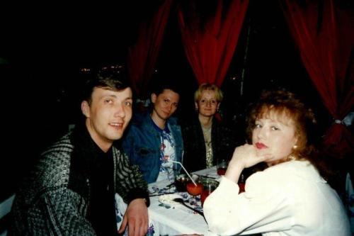 С друзьями. Киев 1998